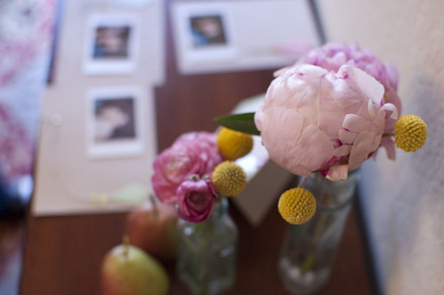 kris's baby shower - peonies