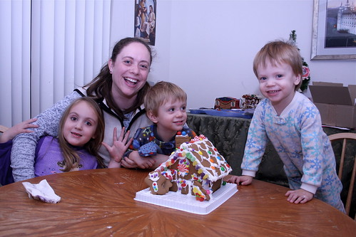 me kids Gingerbread House