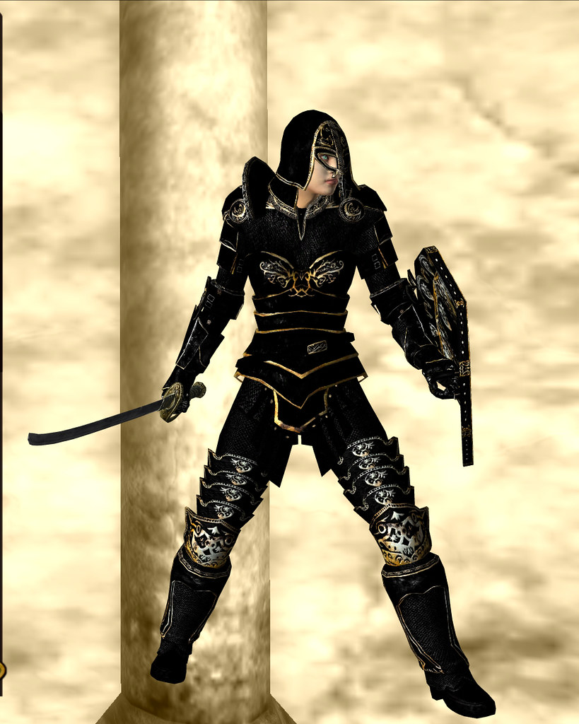 ebony armor - black 01
