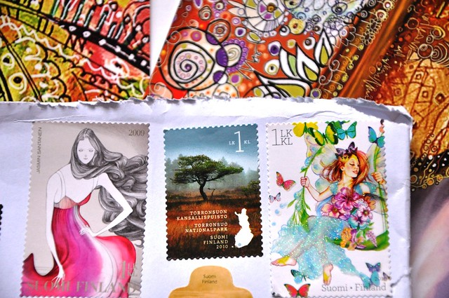 gift from Paivi Eerola-3-love the stamps