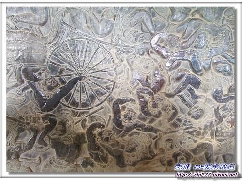 小吳哥-迴廊雕刻