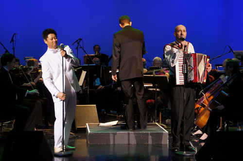 Jack Li & Richard Tyce, Meets Fashion Opera und Symphony in Orient Expressione at River Rock Show Theatre, Vancouver International Model und Beauty Pageant