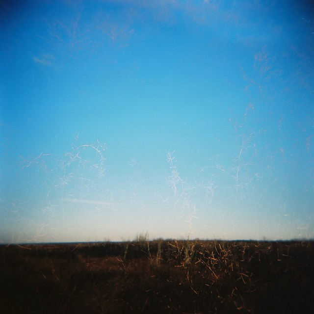 hint of double exposure, prairie