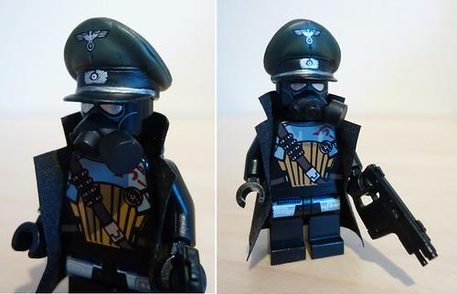 future german commander custom minifig