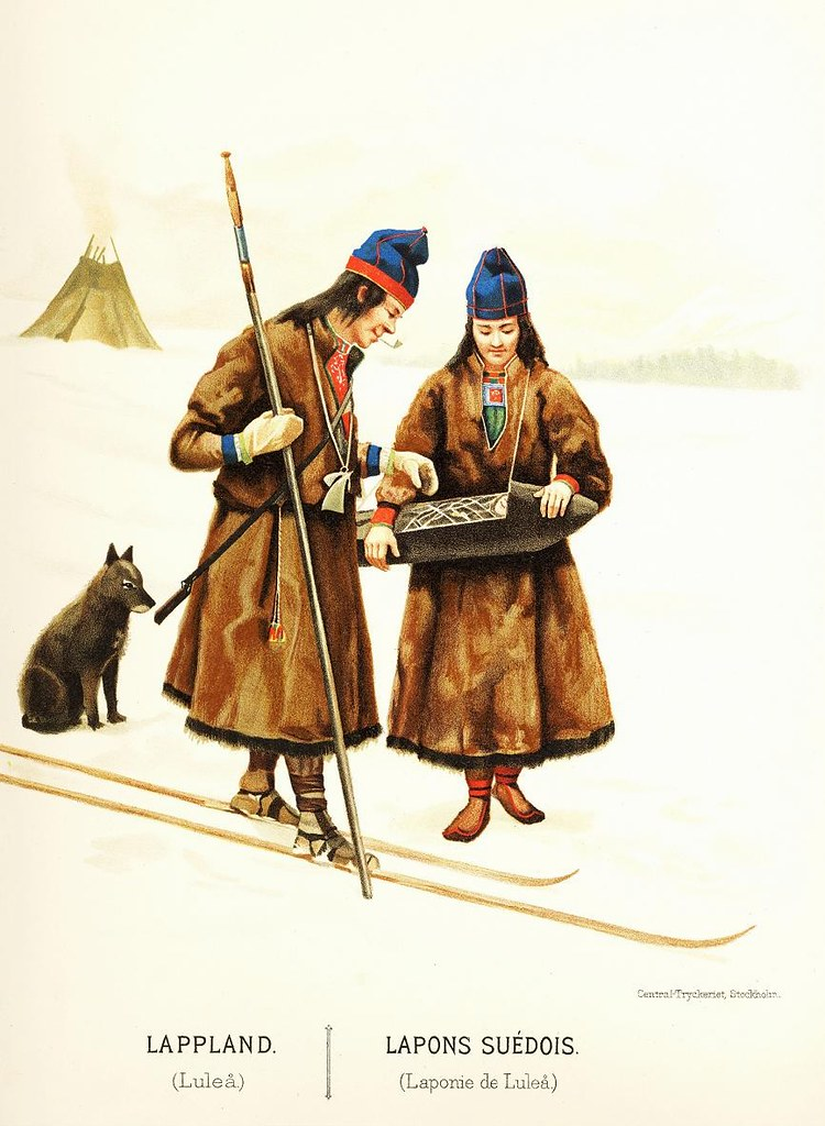 25e60e6363c svenske samer fra Luleå (saamiblog) Tags  sweden sverige 1895 luleå lule  kolt sámi