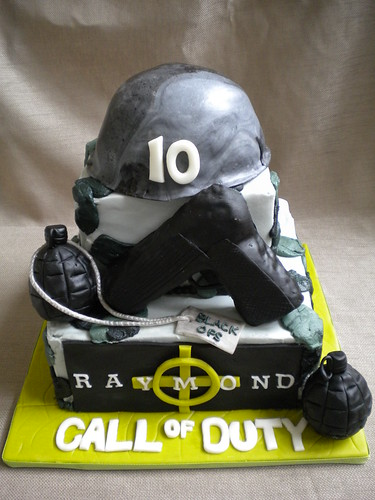 Call of Duty Black Ops Cake