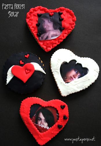 kalpli resimli kurabiye