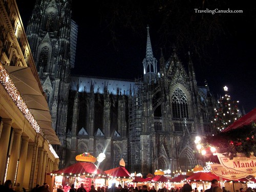 Kolner Dom at night - Cologne, Germany