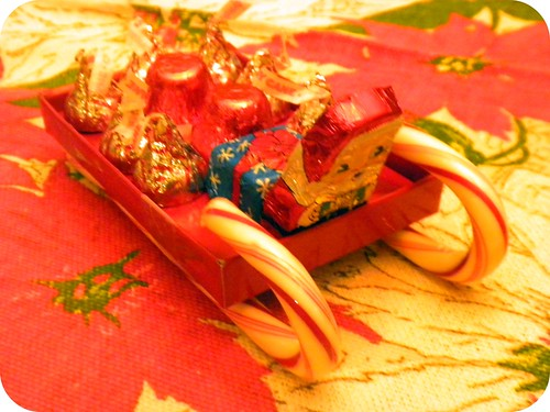 Red Box Candy Sleigh
