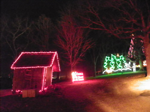 Trail Of Lights At The Shepherd Of The Hills   Branson, MO