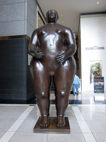Adam and Eve nude bronze sculptures by Fernando Botero located in the ...