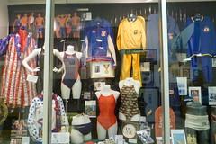 Speedo exhibit of swimwear through the years (Aldene.Gordon) Tags: florida fortlauderdale internationalswimminghalloffame