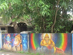 Fort Kochin (gerpower) Tags: travel india tree art wall murals kerala backpacking wallpaintings fortkochin