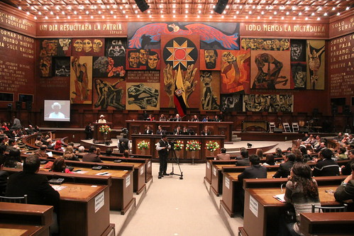 """La Asamblea Nacional realizó la presentación del libro titulado: """"La Constitución de Montecristi: un sueño colectivo; el camino hacia el buen vivir"""""""