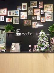 2010xmas - 信義三越A8的咖啡館