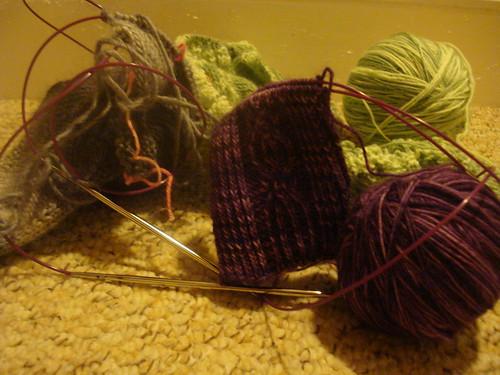 knitting 173