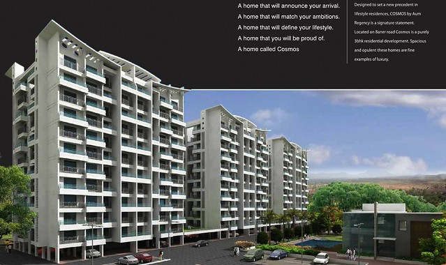 Regency Cosmos Baner road Elevation