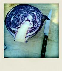 4:00 p.m. - making cabbage