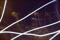 Life[Lines] Ver.05 (D.K. Photography (iDaria)) Tags: fiction moon distortion color colour green nature rain yellow fog night dark gold lights nightlights purple apperture