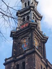 Amsterdam (martalugo) Tags: holland tower netherlands amsterdam canals westerkerk westernchurch