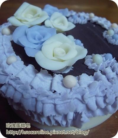 玫瑰蛋糕皂1