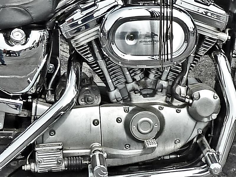 Harley Sportster 1200 engine