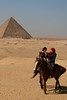 Giza (angela7dreams) Tags: world africa travel portrait horse hot slr history tourism animal digital canon landscape outdoors ancient women scenery desert pyramid scenic egypt middleeast culture unesco climate giza global worldheritage 2010 somerightsreserved angelasevin