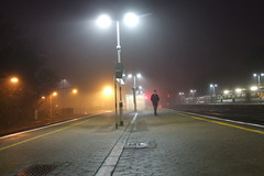 Redhill station - Early Morning