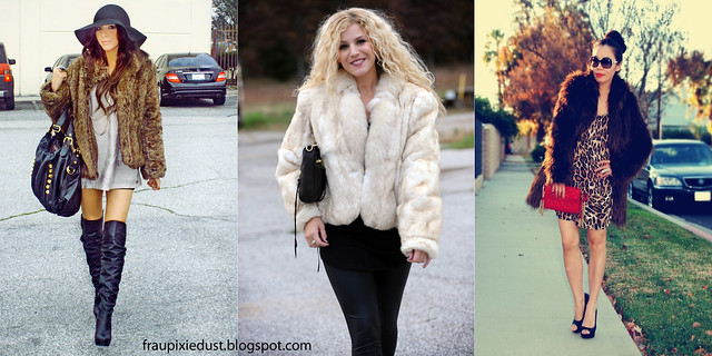 How to Wear: Fur Jacket