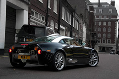 C8. (Alex Penfold) Tags: camera london cars alex sports car canon photography grey photo cool shot image awesome picture fast super exotic photograph mayfair coupe supercar exotica 2010 supercars spyker penfold c8 laviolette 450d hpyer