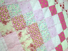 pink scrappy barello detail