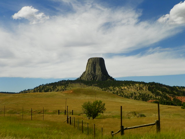 Devils Tower , Wyoming