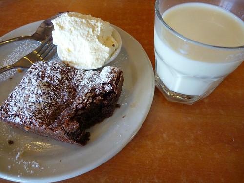 Chocolate Brownie and Fresh Cold Milk-Pyengana Dairy Company