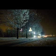 Day One (ODPictures Art Studio LTD - Hungary) Tags: winter portrait snow night sigma 365 gödöllő tél éjszaka éjjel strobist strobizm orbandomonkoshu 2011inphotos