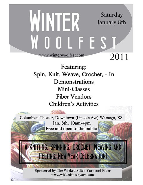 Winter Woolfest in Wamego, KS