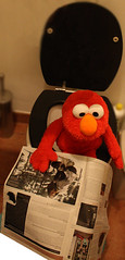 48/365 (dailyelmo) Tags: red paper newspaper break elmo journal toilet read wc shit need 365 smelly 00 48 stinking watercloset 48365