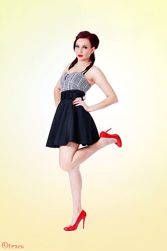 50s Pin Up Dresses. 1950s pin up clothing.