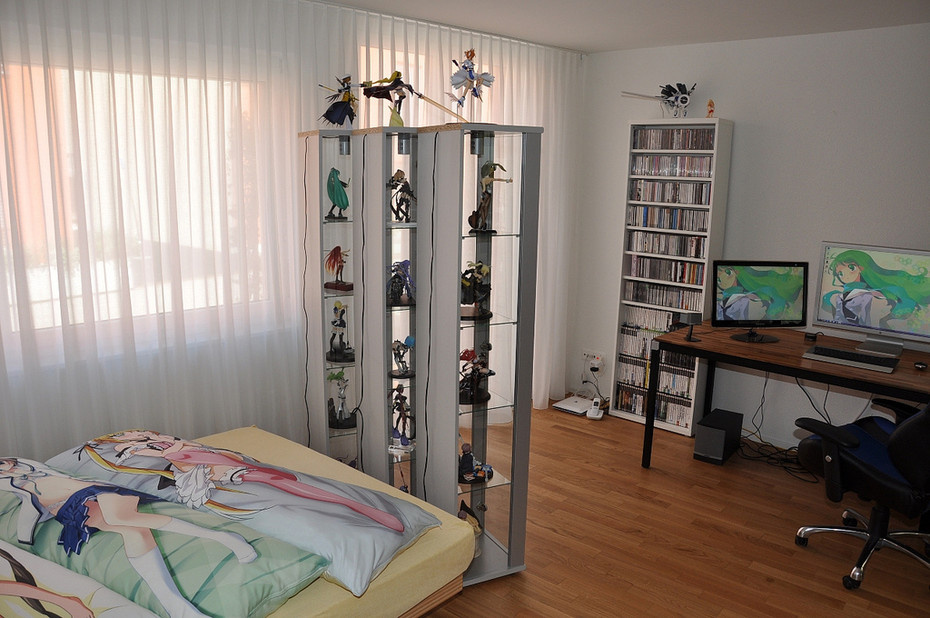 Worlds Most Stylish Otaku Room?