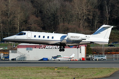 Private N647EF (Drewski2112) Tags: county field airport king gates international boeing 60 learjet lear bfi kbfi lj60 n647ef