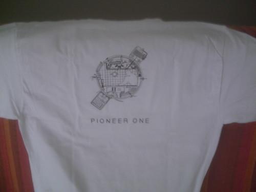 T Shirt blanc Pioneer One