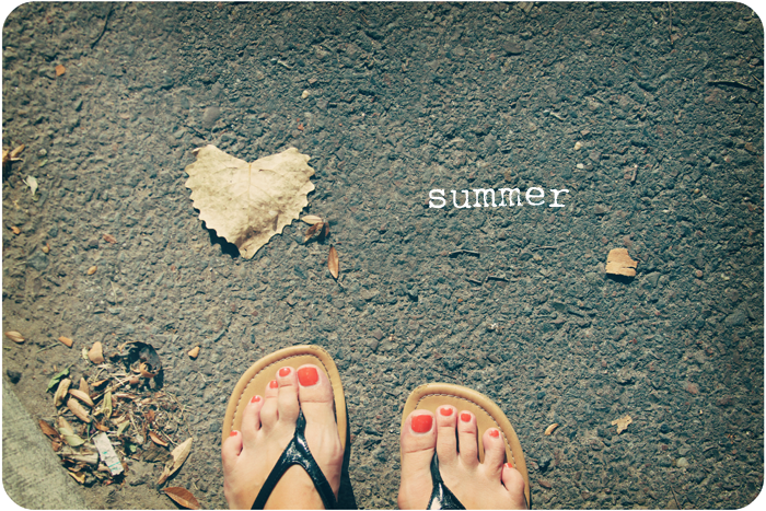summer feet blog