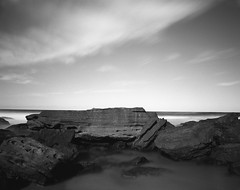 (Greg Zauswoz) Tags: ocean longexposure sky bw seascape 120 film nature pool monochrome clouds analog mediumformat landscape mono blackwhite nationalpark rocks pacific horizon grain australia monotone shore serenity nsw nd newsouthwales 6x7 royalnationalpark filmphotography pentax6x7 realphotograph 30secexposure neutraldensityfilter aristaeduultra100 homedevelopment bwnd301000x110 smcpentax6755mmf4 epsonperfectionv600photo rodinal1507min20c