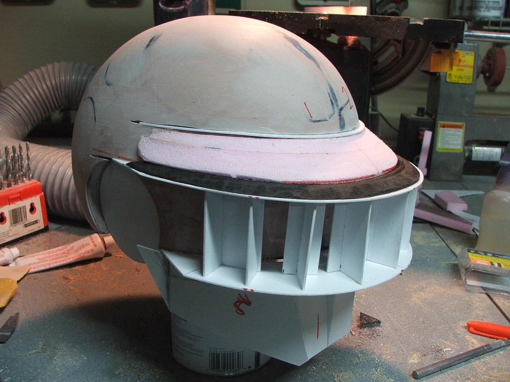 [Parte1] Como hacer el casco de Thomas Bangalter (Daft Punk)