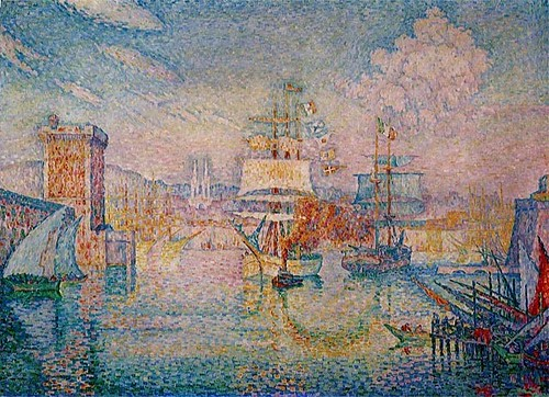 Entrance to the Port at Marseilles Paul Signac