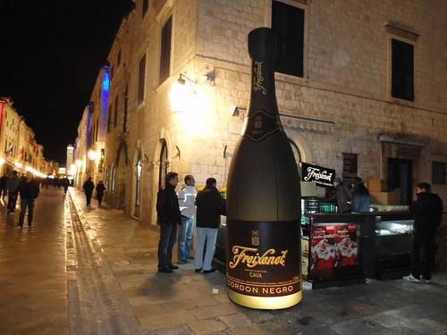 Freixenet al Cap d'Any de Dubrovnik