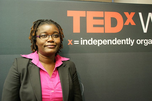 Jemimah Njuki gives a TEDx Washington Circle talk