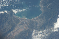 Very nice place in North America (astro_paolo) Tags: california monterey nasa northamerica iss esa internationalspacestation earthfromspace europeanspaceagency expedition26 magisstra
