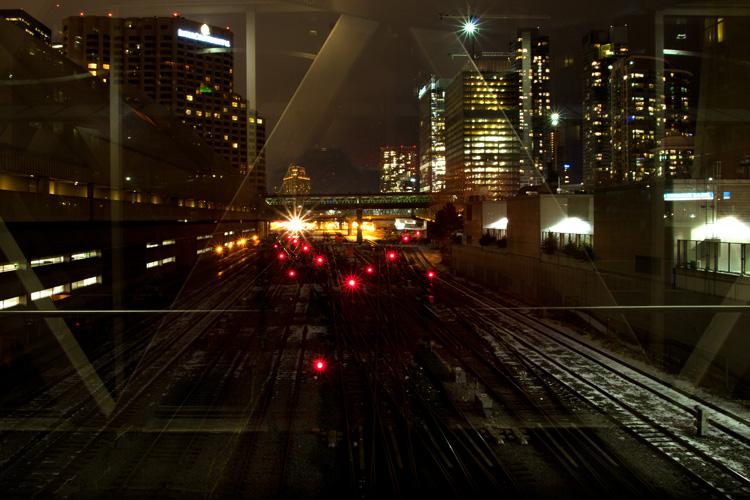 Lights at Union Station