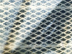 Dirty Window.12 (mcreedonmcvean) Tags: abstract grid wichitafalls dirtywindow indianastreet