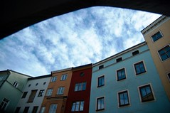 Wasserburg (Rainer Wahnwiz) Tags: fenster wolken architektur stadtbild wasserburginn ganznett unlimitedphotos pentaxart wahnwizig